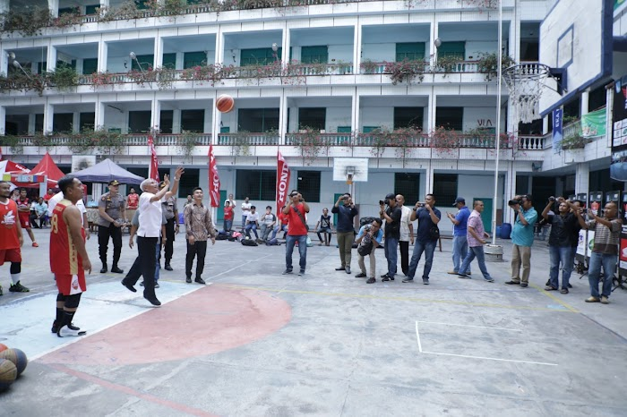 Turnamen basket Honda eks 3x3 tour North Sumatera Utara KU 18 Putra putri Asahan