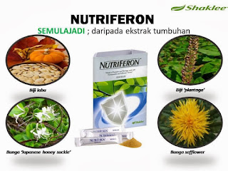 Nutriferon; Shaklee Labuan; Kuatkan imunasi badan; ganti panadol