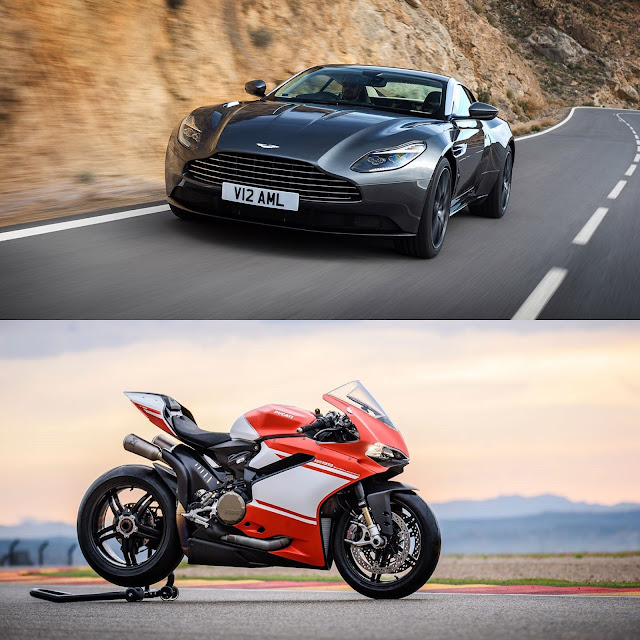 Aston Martin DB11, Ducati 1299 Superleggera