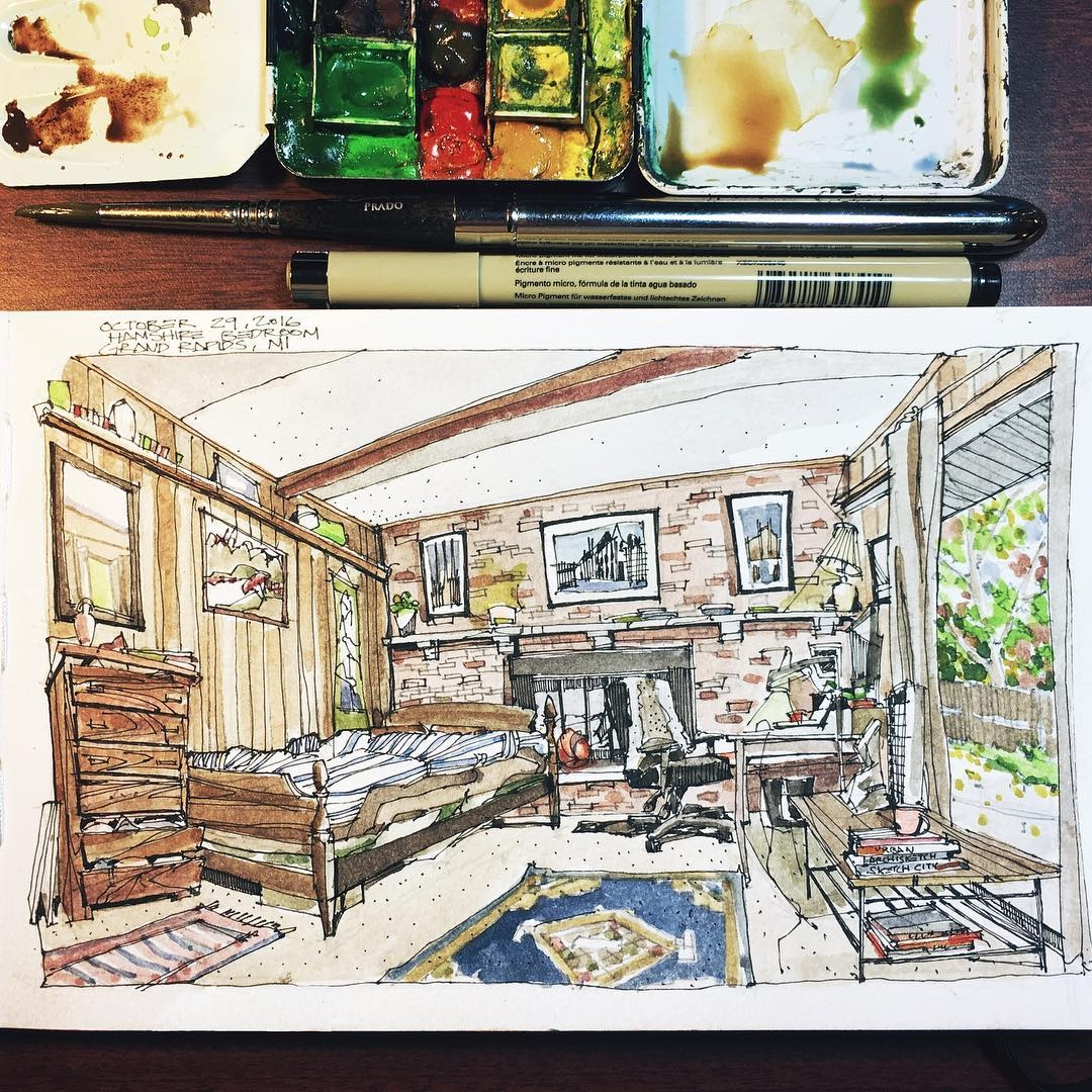 01-New-Bedroom-new-Sketch-Josiah-Hanchett-Urban-Sketcher-taking-in-the-views-and-Drawing-them-www-designstack-co
