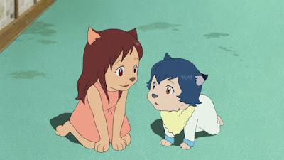 مشاهدة فيلم Ookami kodomo no Ame to Yuki مترجم اون لاين