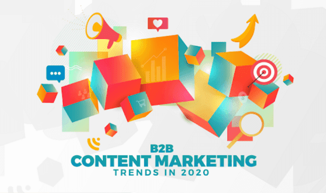 B2B Content Marketing Trends in 2020 #Insographic