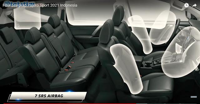 airbag pajero