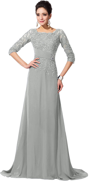 Best Silver Mother of The Bride Dresses