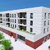 Maqueta virtual para vallado publicitario de la promoción de viviendas de Ronda Mar en Vilafranca del Penedés