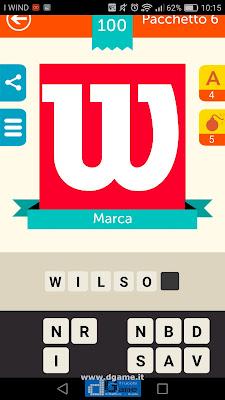 Iconica Italia Pop Logo Quiz soluzione pacchetto 6 livelli 100-100