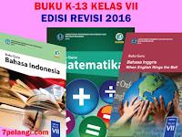 Download Lengkap Buku Kurikulum 2013 SMP Kelas 7 Edisi Revisi 2016 Semua Mapel Semester 1 dan 2