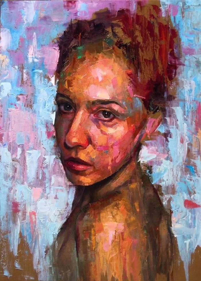 Красочные портреты.