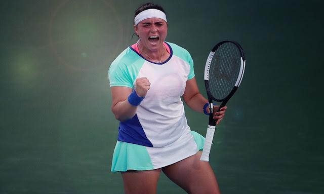 أنس جابر تترشح إلى الدور الثاني من بطولة دبي المفتوحة للتنس