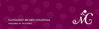 Lanzamiento Catalogo de platería 2020 del MUSEO COLONIAL