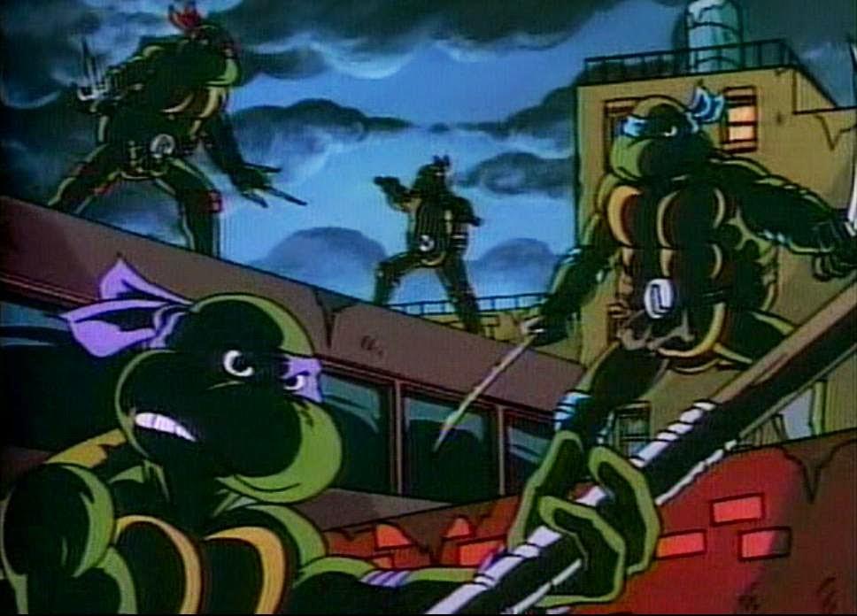 2012 *** Monkey cervelli COMPLETA *** Teenage Mutant Ninja Turtles TMNT