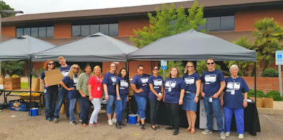 Image of Rio Salado employees volunteering