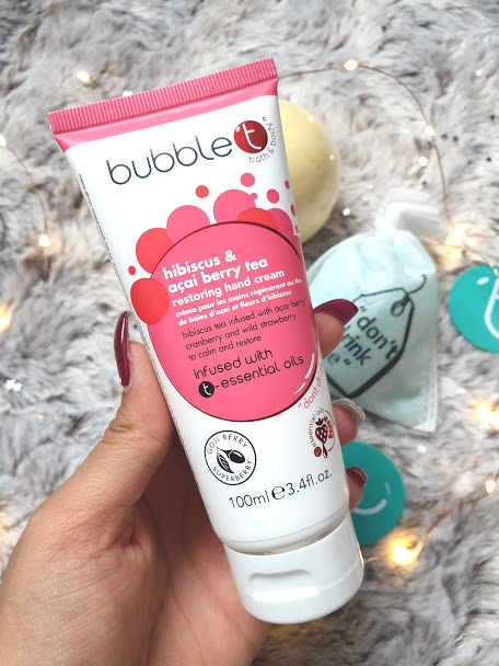 bubble t hand cream