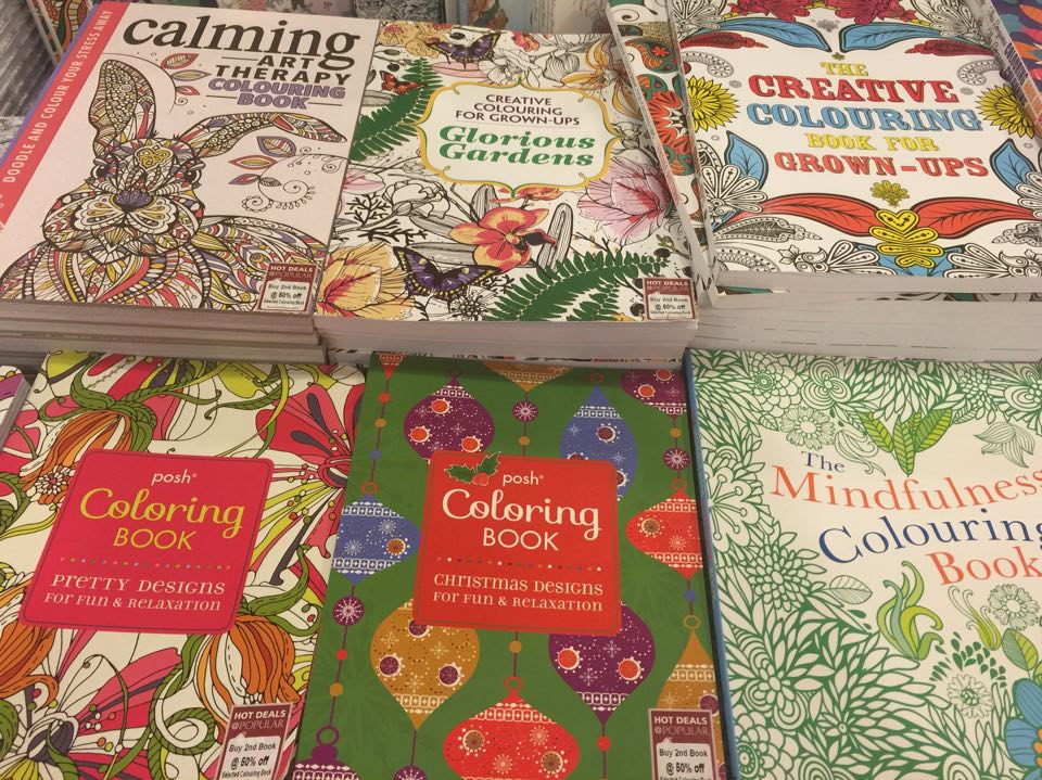 Can You Guess The Hottest Publishing Trend Of Last Year Cmon Try Its Colouring Book For Grownups