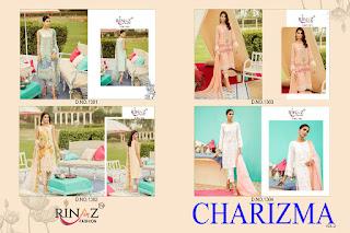 Rinaz Fashion Charizma vol 2 Pakistani Suits wholesaler