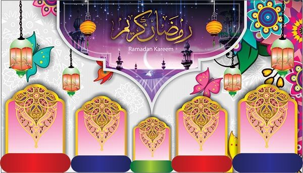Ramadan Kareem Flex Free Islamic Design Cdr file Download - Computerartist.org