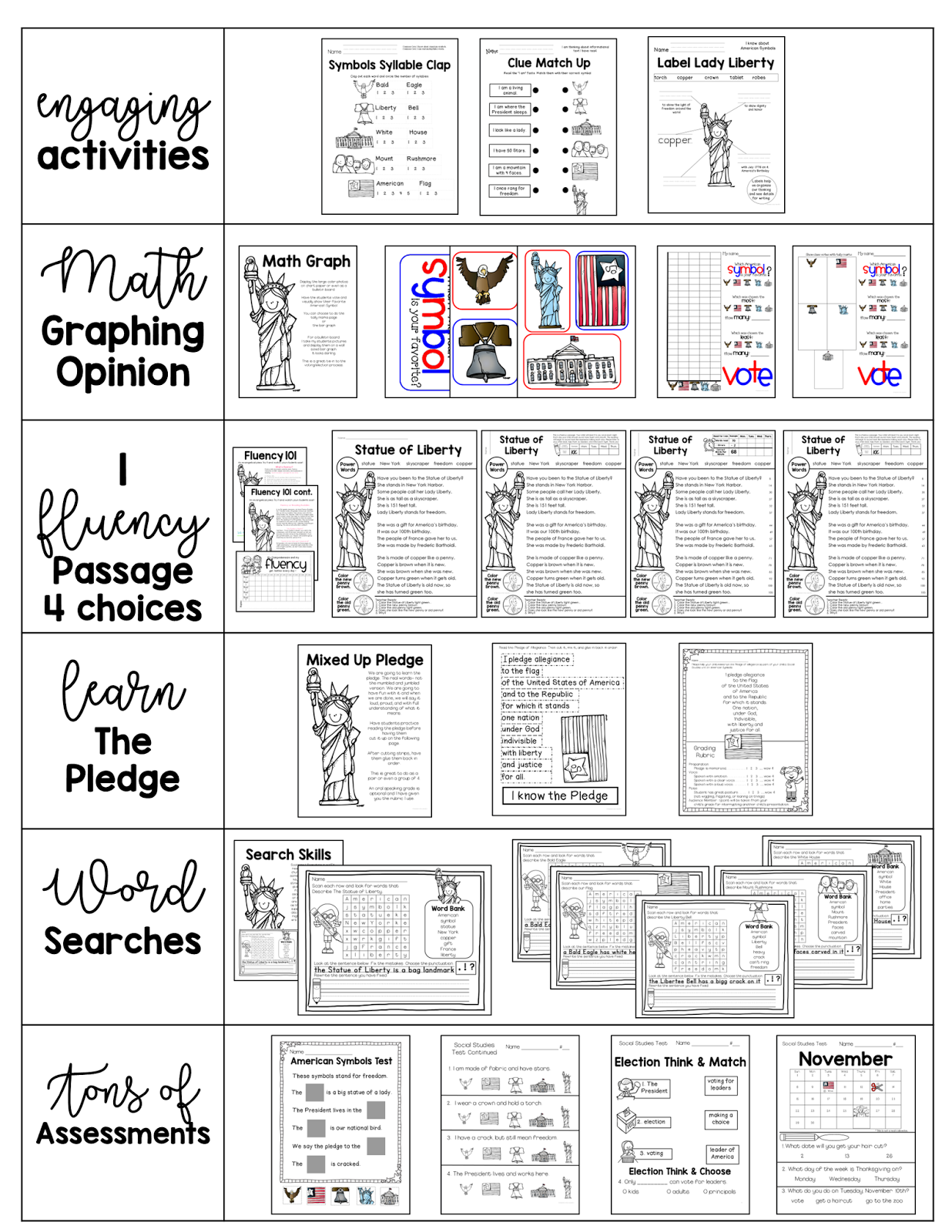medium resolution of American Symbols   Teacher to the Core