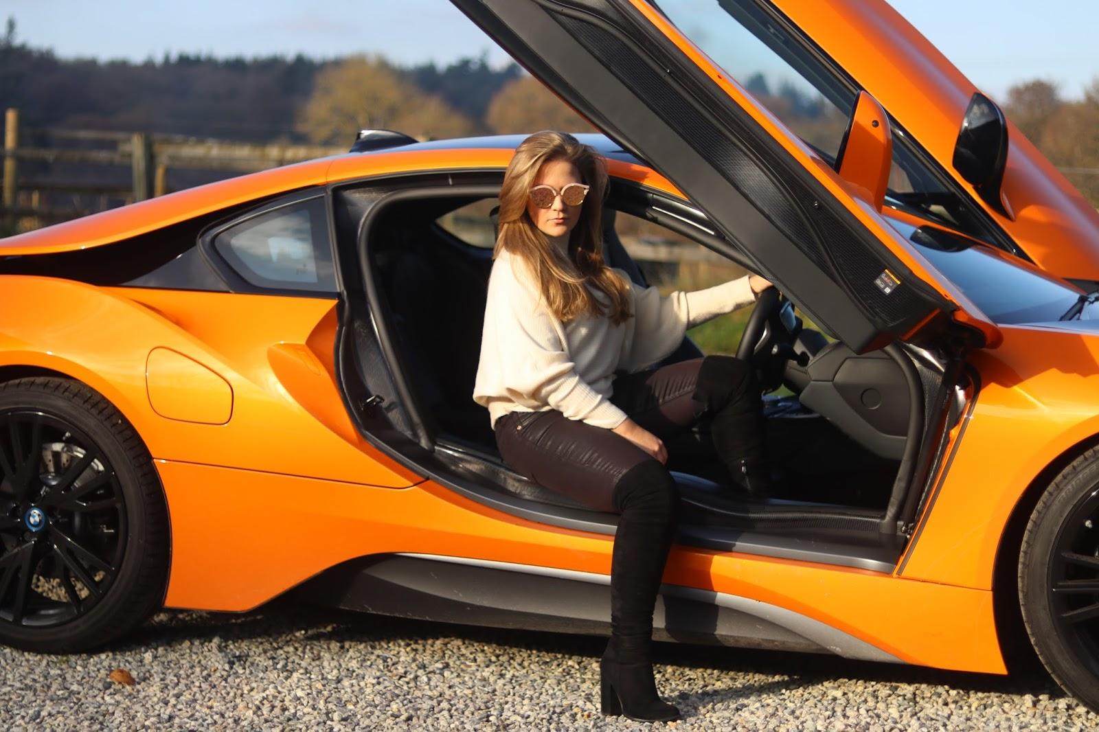 BMW I8 Supercar Bright Orange, KALANCHOE, Katie Heath