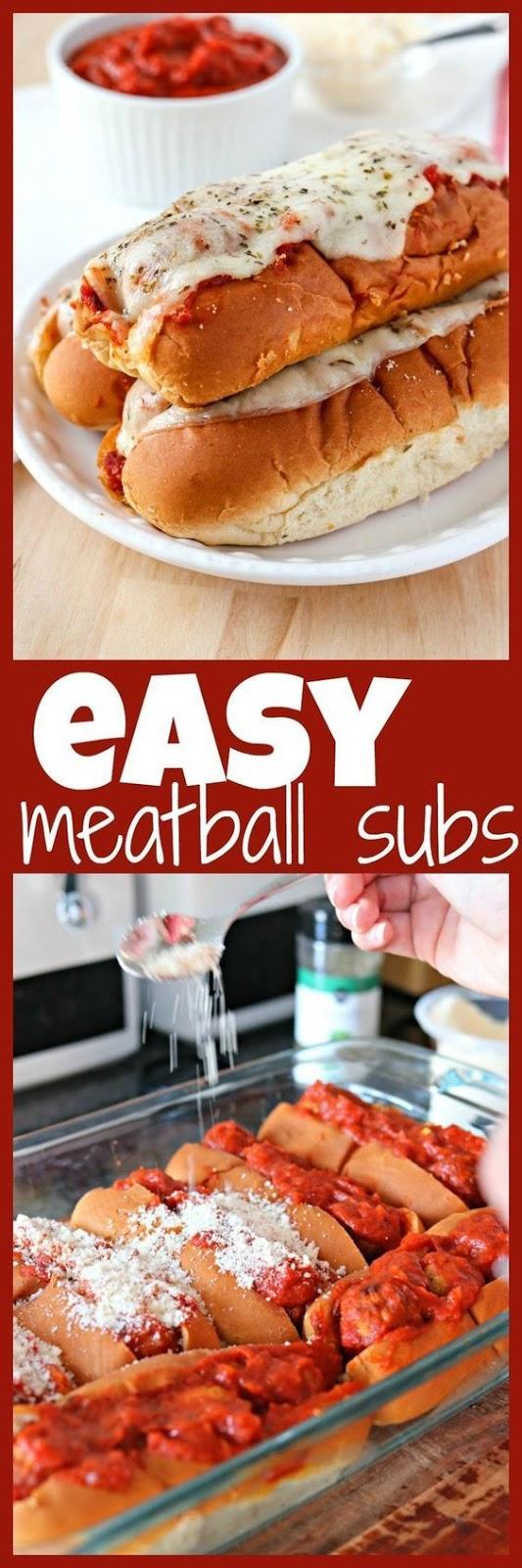 Easy Meatball Subs