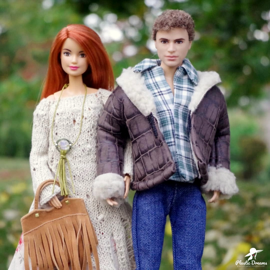 fall party with barbie and ken