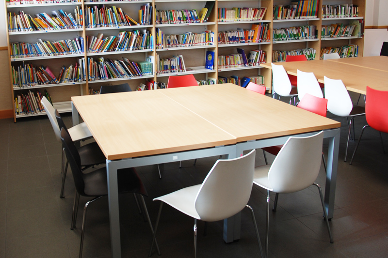 Mesas de biblioteca y comedor - Fabricantes de Mobiliario Escolar ...