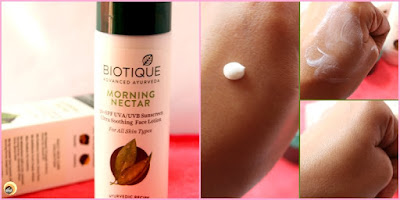Product empties part 3. Biotique bio morning nectar ultra soothing face lotion review