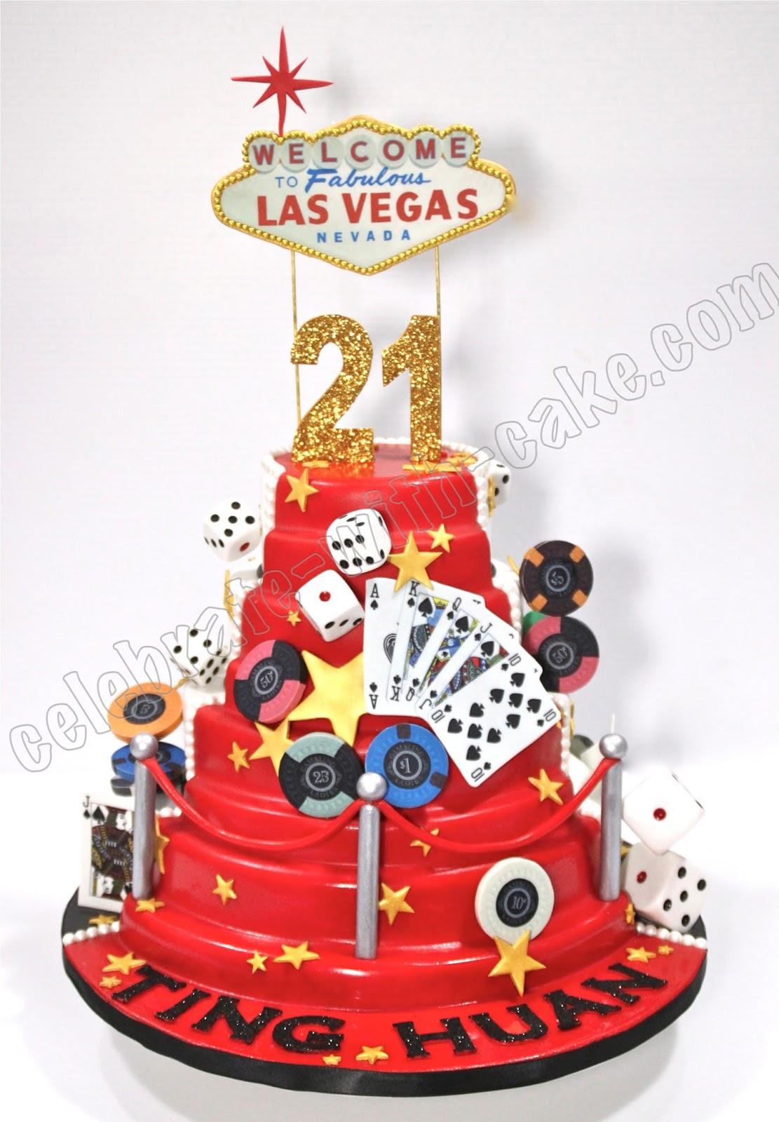 Celebrate with Cake!: 21st Birthday Las Vegas Casino ...
