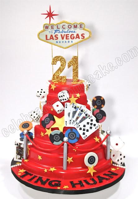 Celebrate With Cake 21st Birthday Las Vegas Casino