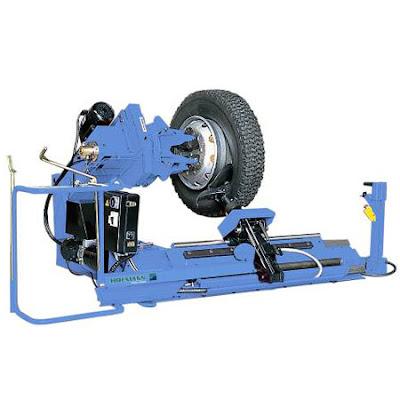 Máy ra vào lốp chuyên dùng cho xe tải