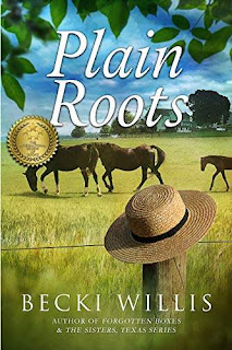 Plain Roots - Heart warming intrigue discount book promotion Becki Willis