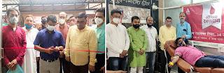 #JaunpurLive : रक्तदान शिविर का किया गया आयोजन