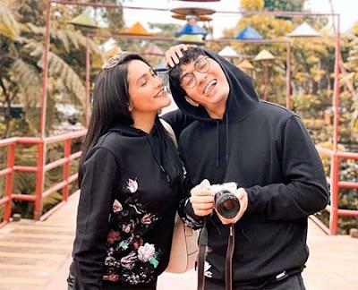 Dafina Jamasir dengan Suami