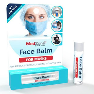 MedZone announces Face Balm to prevent chafing caused by medical face masks.