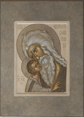 Максим Шешуков art of Maxim Sheshukov a contemporary iconographer working in Sviyazhsk (Kazan region of Russia)