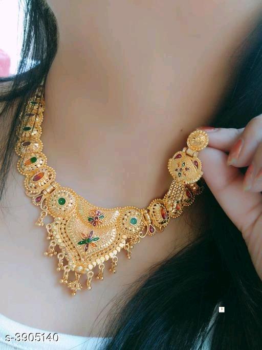 Trendy Attractive Alloy Women's Jewellery Set