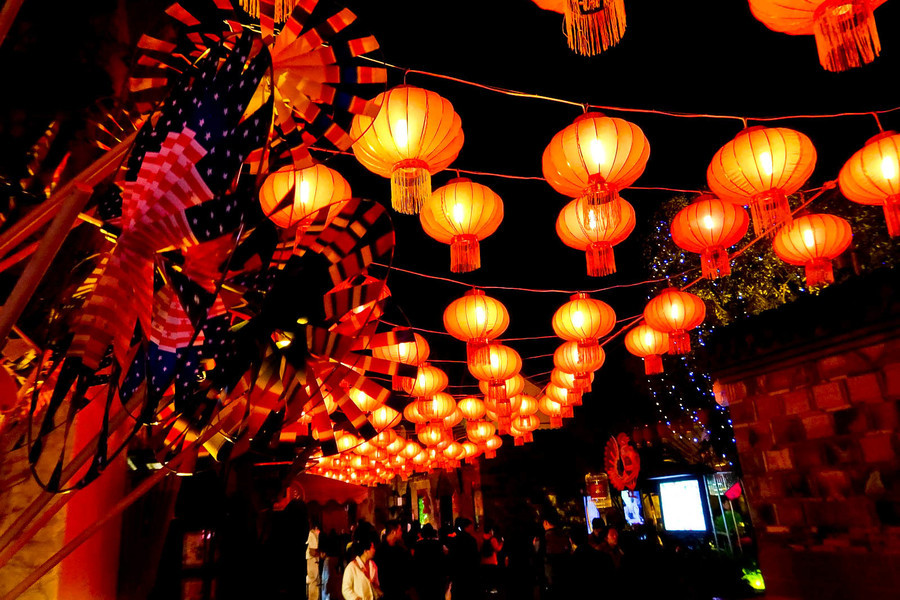 festival faroles en china