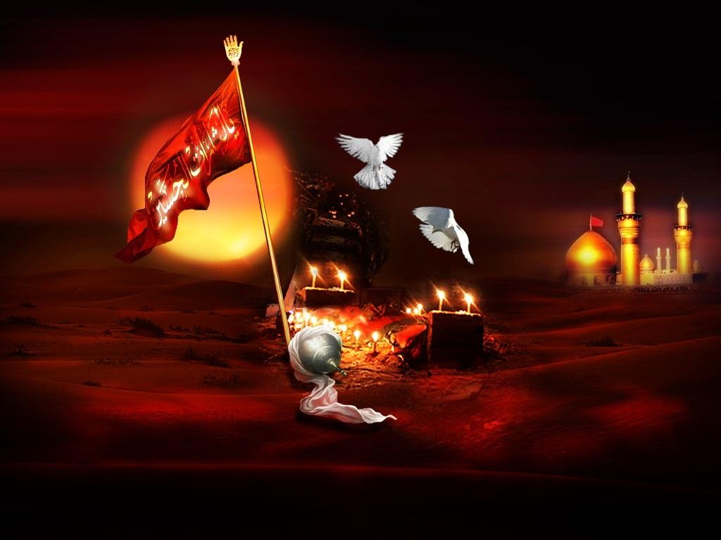 Maula Ali Shrine Wallpaper: وأنا من حسين: Salaam Ya Hussain (A.S