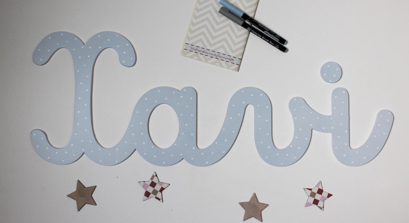 Letras y nombres para decorar decoraci n infantil - Letras infantiles para decorar ...