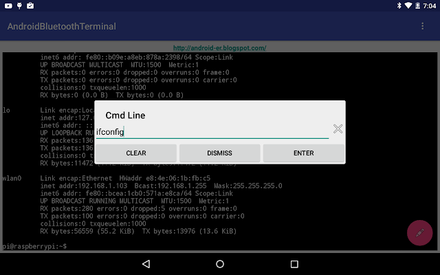 Android Bluetooth Terminal
