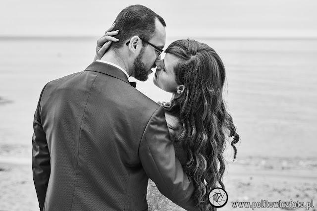 fotografia ślubna plaża Gdynia