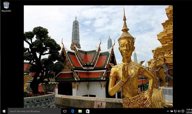 Cara Mengubah Background Desktop di Windows 10