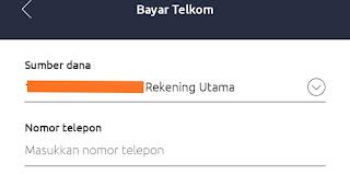 membayar wifi dengan mobile banking