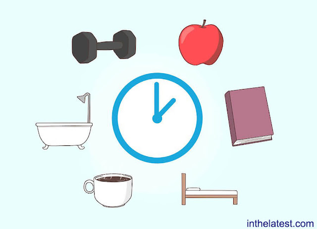 A routine can assist you stick with your eating, exercising, and stress reduction goals