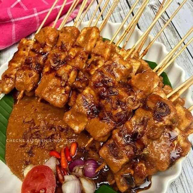 Sate Tahu - Sate Ayam - Cemilan Sate