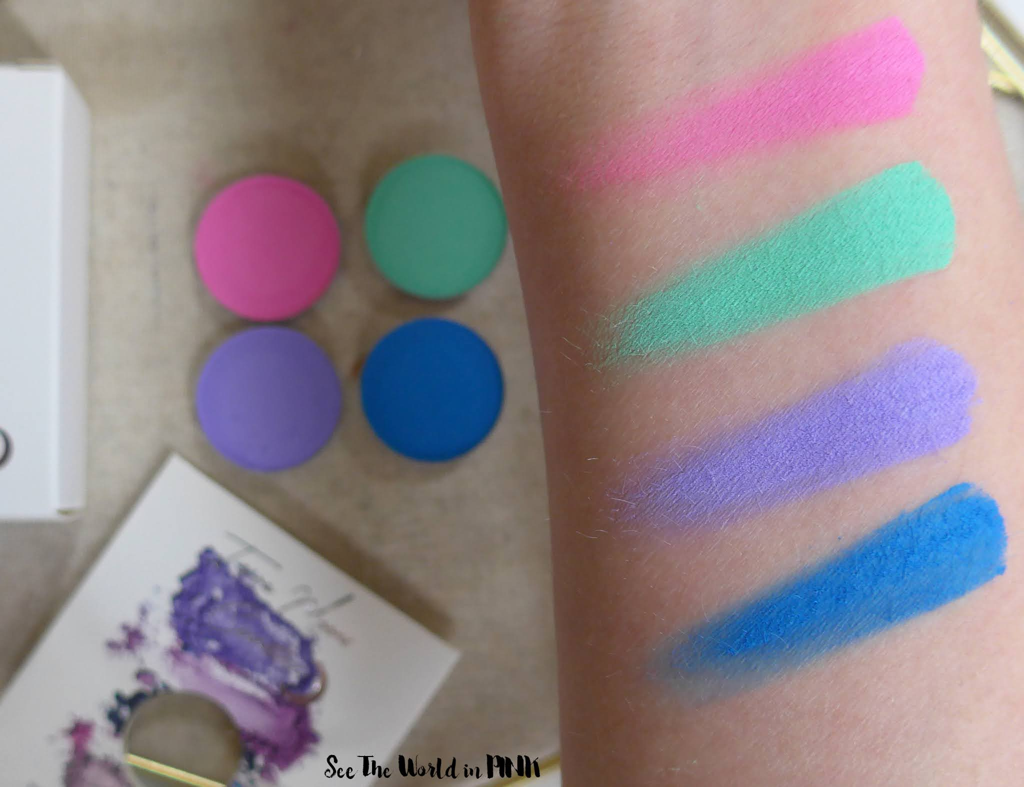 Terra Moons Cosmetics Urban Outfitters Exclusive Celestial Eyeshadow Set - Cosmic Neon