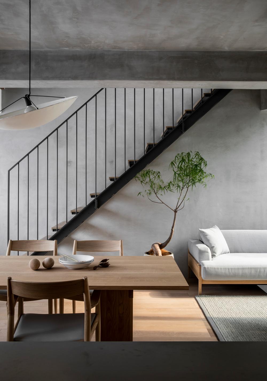 ilaria fatone - minimal esthetics - dining room