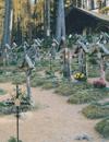 Der Soldatenfriedhof in Bruneck