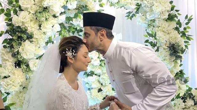 Perkahwinan Sasha Saidin dengan Sirhan Wahab