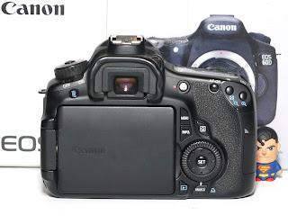 Kamera Canon EOS 60D BO Second Fullset