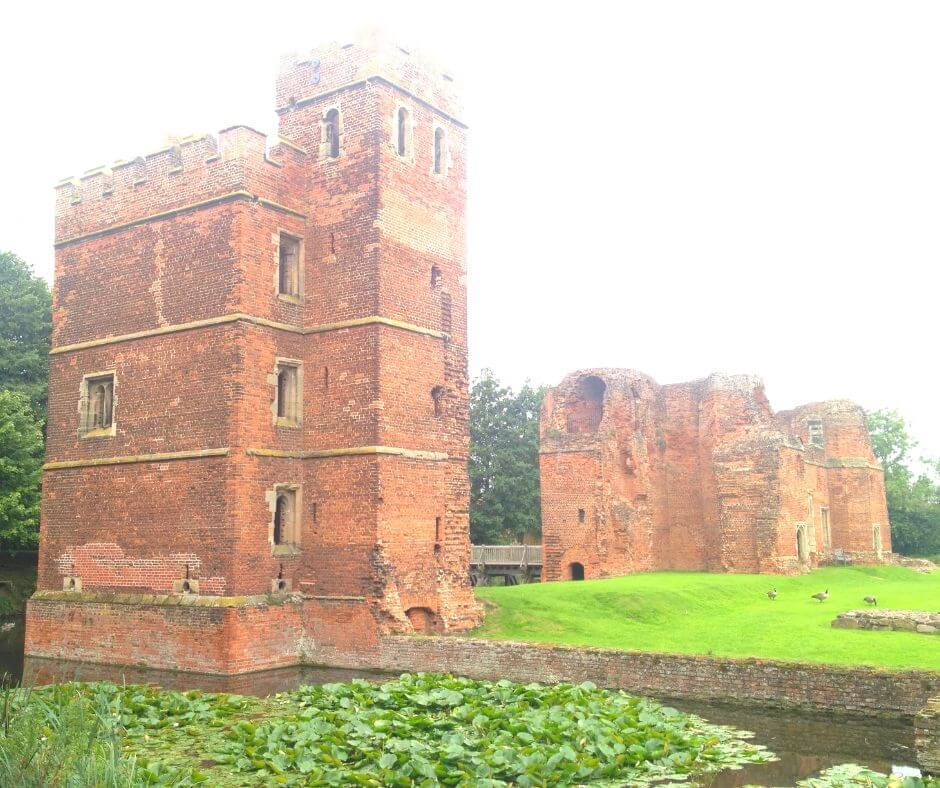 Fascinating English Heritage Castles To Visit In The East Midlands | Check out the tower at Kirby Muxloe.